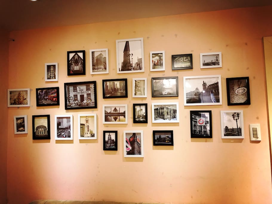 LIVING ROOM WALL SHOW