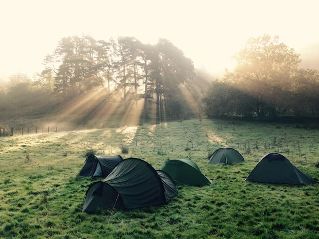 Brecon Beacons National Park - Camping BYO Tent