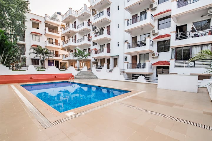 Humming Wood 1 BHK with a pool/66925