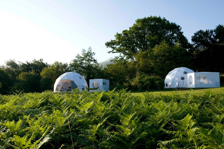 Dome 7 - glamping on the foothills of the pyrenees