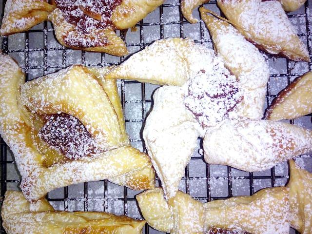 homemade danish pastry!