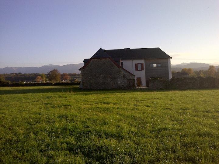 Renovated farm near Oloron