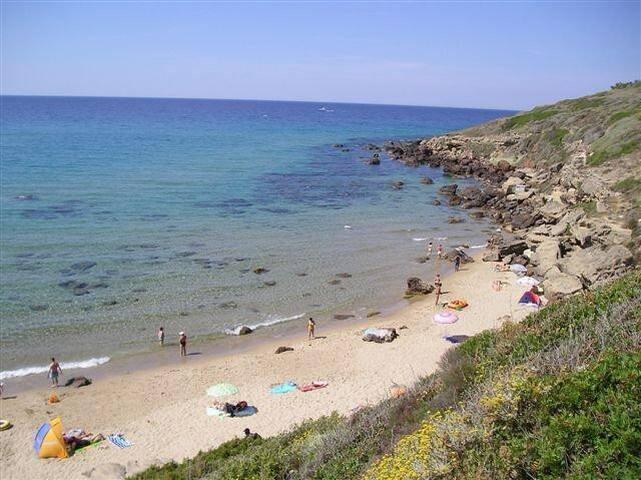 spiaggia lato destro