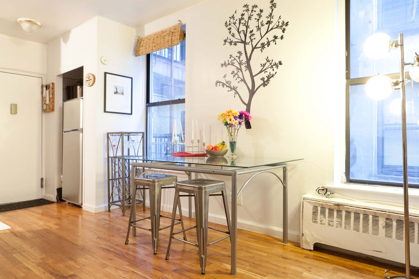 I am happy to offer my apartment as your temporary NYC home! I have hosted 100+ travelers here, and each one arrive as guests and leave as lifelong friends!
