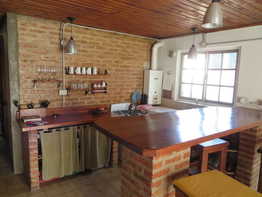 Kitchen (equipped for 4 people)