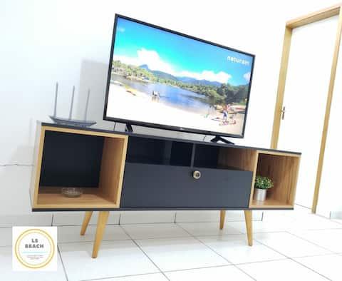 Apartamento novo aconchegante Ubatuba cond SunWay