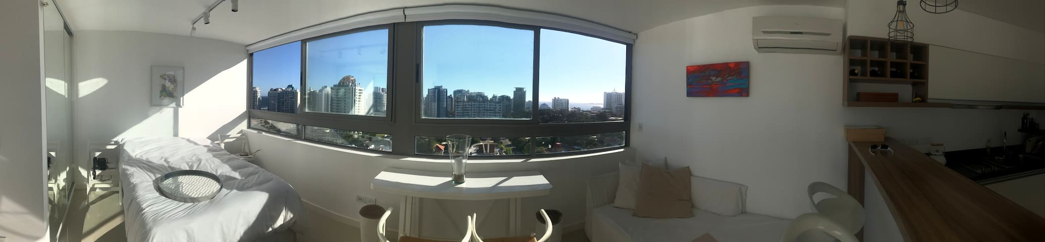 Design, amazing sea view, 6 brava, Punta del Este