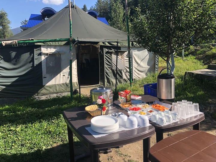 Swiss Camp | Unforgettable Chanshal Pass | C.P