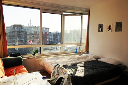 Bright room near Wageningen city centre - Wageningen - Wohnung