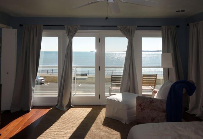 Master Suite looking over the ocean - Swampscott - House