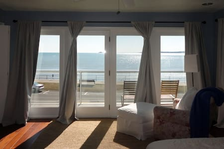 Master Suite looking over the ocean - Swampscott