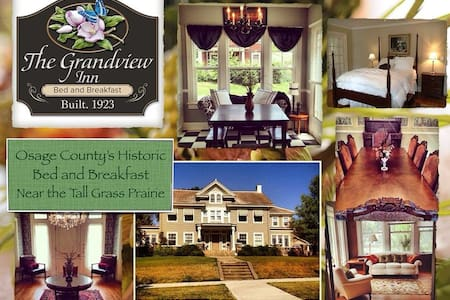 The Grandview Inn Bed and Breakfast Master Suite - Pawhuska - Bed & Breakfast