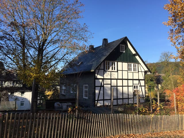 "Charming house ""Alte Försterei"" in Sauerland"