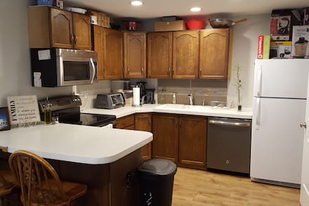 Close to BYU & UVU bedroom, bath, kitchen appartme - Provo - House