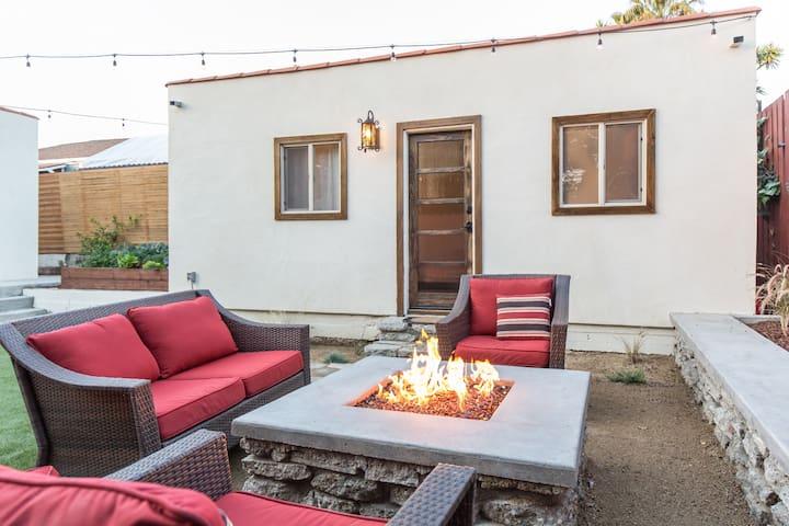 private guest house ac firepit g steh user zur miete in los angeles kalifornien. Black Bedroom Furniture Sets. Home Design Ideas