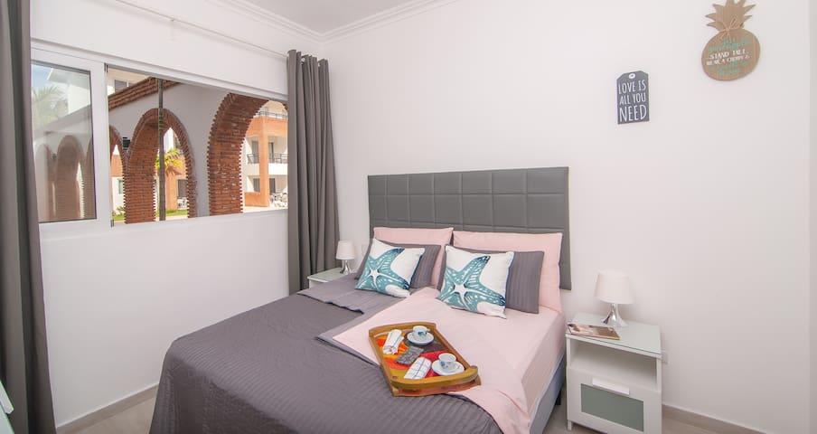 Amplia, cómoda y agradable habitación