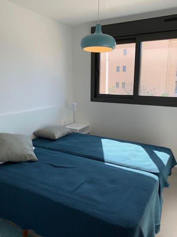 Bedroom #3          2 Single Beds