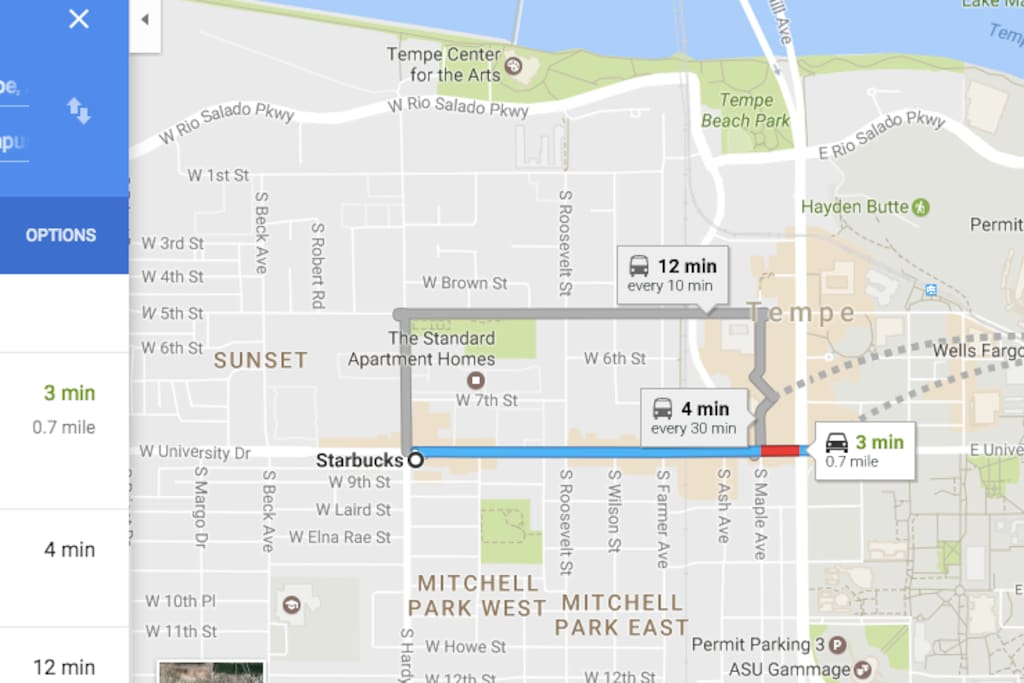Minutes to Mill Avenue restaurants, cafes, and ASU