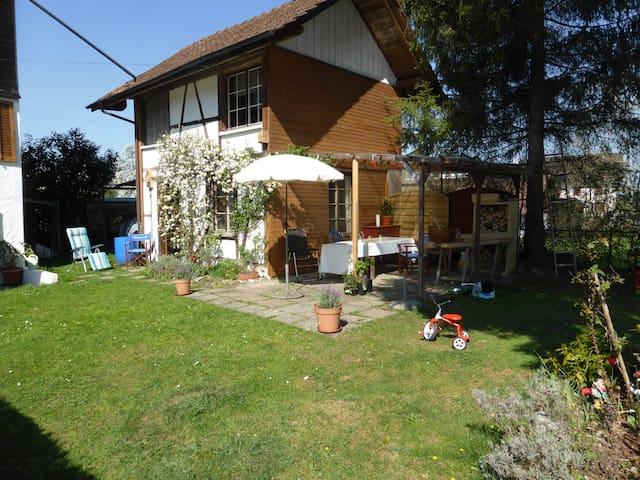 small, little, cozy house, Schöpfli