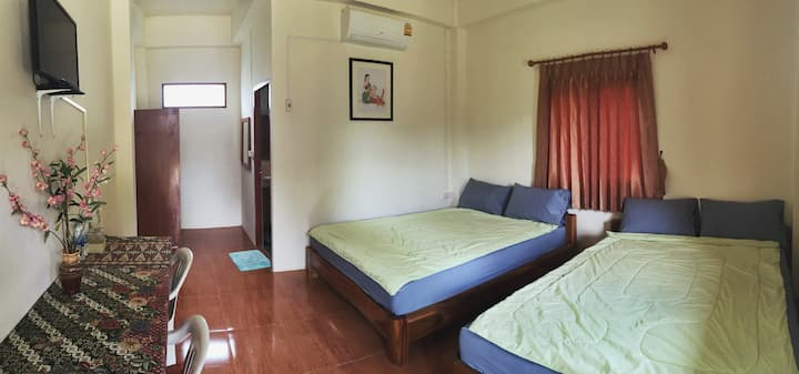 Air Conditioned Room - 4 people