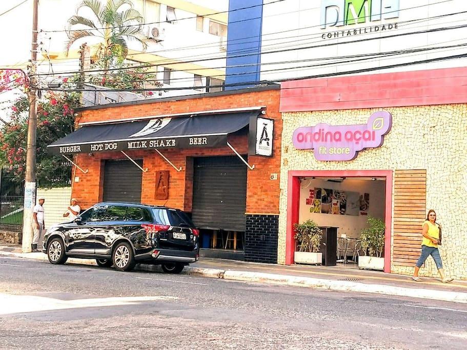 places in the area / lojas da area
