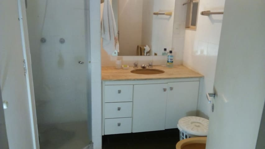 Banheiro privado para você nosso hospede.