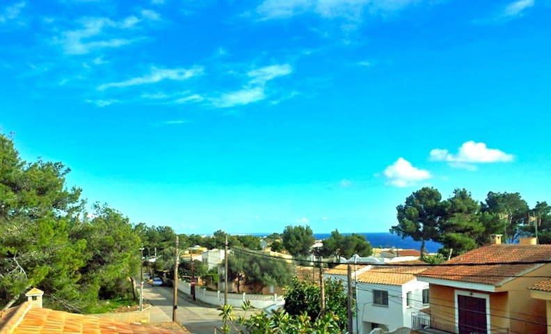 Casa Beltran - gepflegtes Ferienhaus mit Garten - Cala Pi - Dom