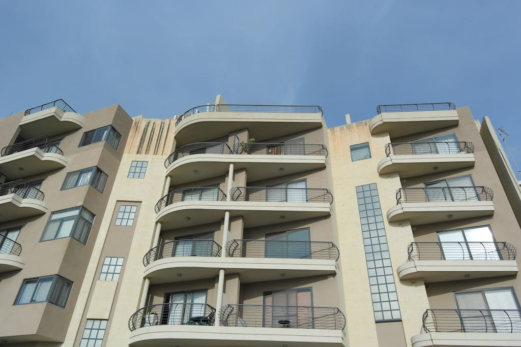 Fifth floor apartment  close to beach.