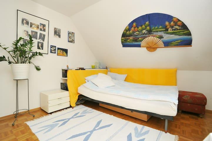 private modern sunny cosy personal
