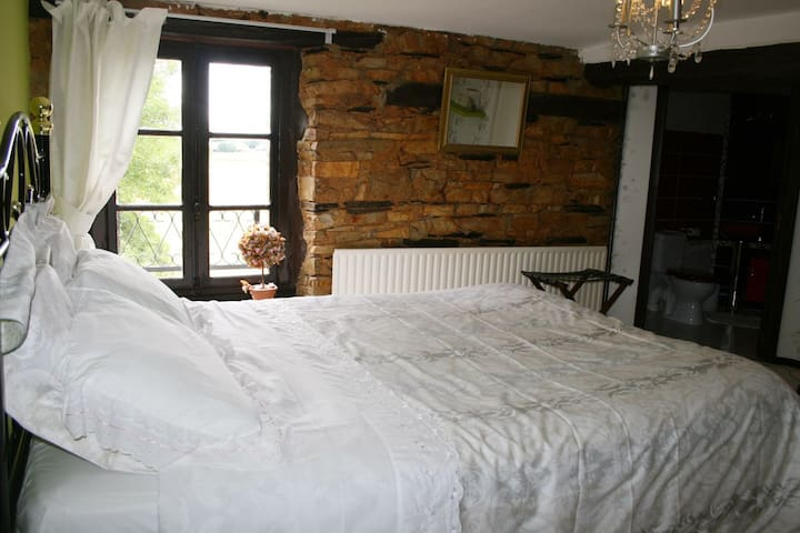 Belle chambre et pierres apparentes - Grand-Fougeray - Bed & Breakfast