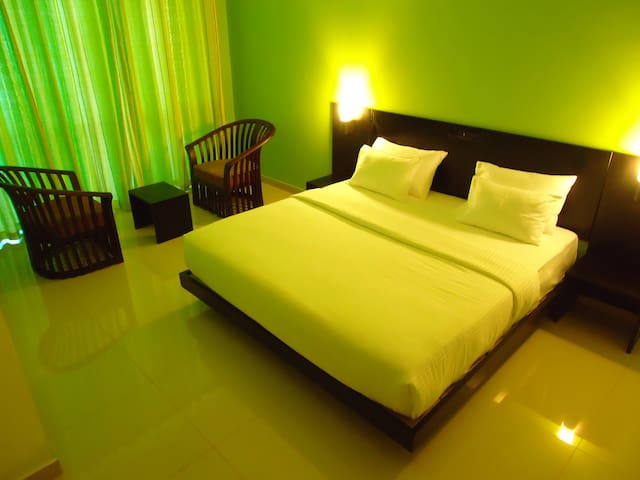 Superior sea view room in the heart of Tangalle
