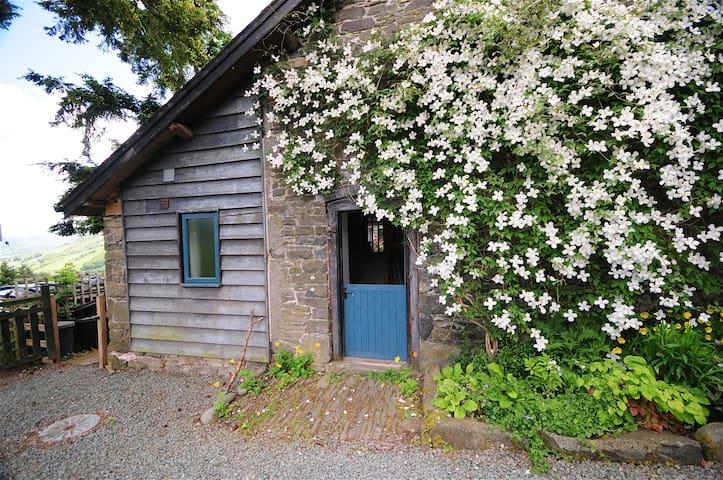 Barn - stunning hillside Mid Wales - Llawryglyn - House