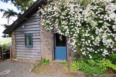 Barn - stunning hillside Mid Wales - Llawryglyn - Casa