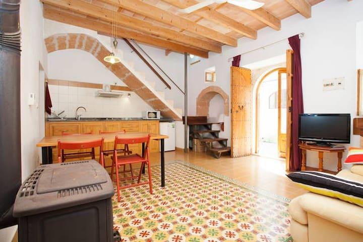 Old village stone house reformed - Ses Salines - Dům