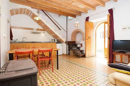 Altes Dorfsteinhaus  reformiert - Ses Salines - Casa