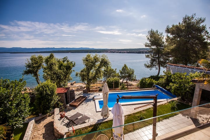 Villa Ana - apartment in a peaceful place Malinska