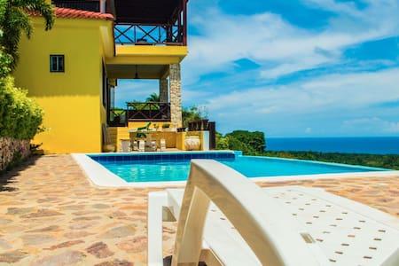 Villa en montaña con excelente vista al mar. - Cabrera - Villa
