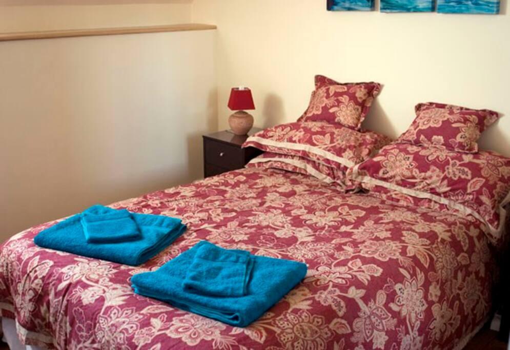 Double room, chambre 1 lit 2 personnes