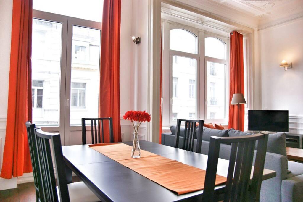 3 chambres centre ville acc s facile appartements - Appartement a louer a bruxelles 3 chambres ...