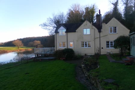 RIVERSIDE COTTAGE -FISHING+MOORINGS - Hanley Castle - Casa