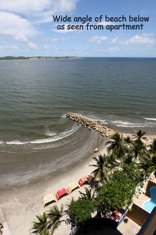 Quality, Price, View, On the Beach - Cartagena - Leilighet