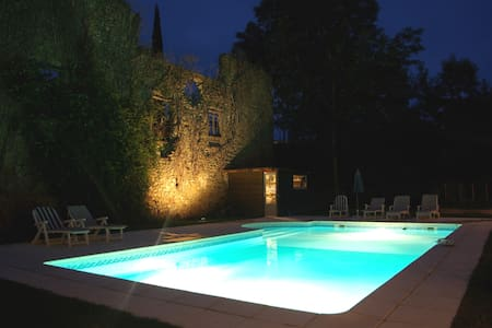 Quiet garden, pool, spacious rooms. - Leran