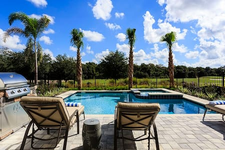 Amazing Contemporary Villa 12 mins from Disney - Kissimmee