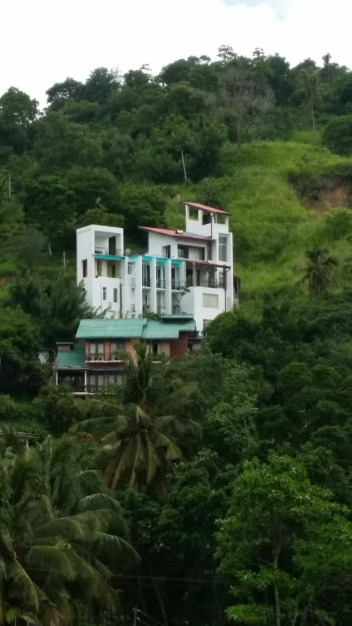 Modern villa with incredible views