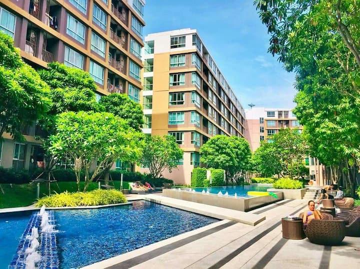 D condo Creek Phuket, B-6th Floor, Mountain View
