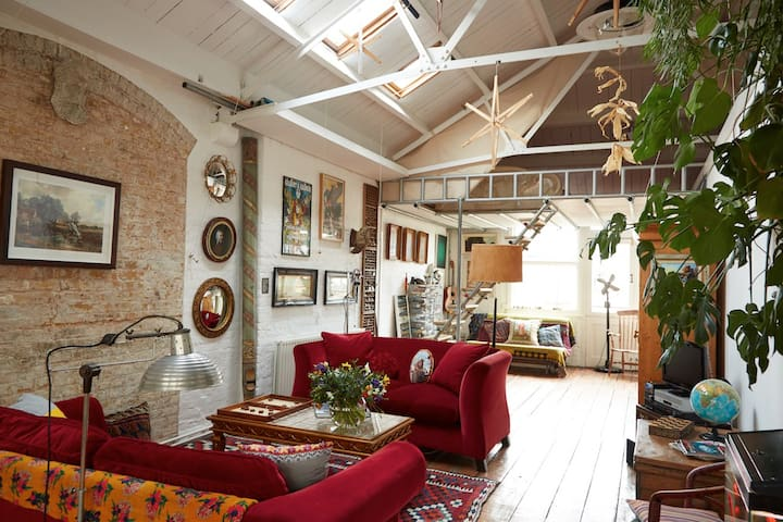 Bohemian Loft Apartment Shoreditch - Londra - Loft
