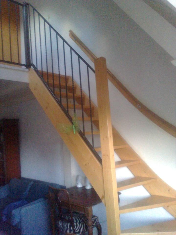 Cosy apartment with mezzanine