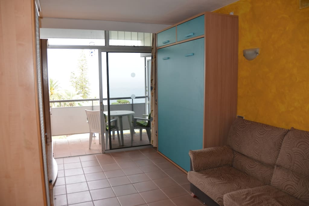 Studio in hotel complex with sea view appart 39 h tels for Louer appart hotel