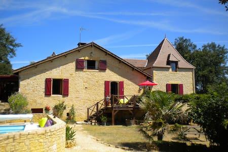Maison de Famille Le Pech aux Buis - Groléjac - Casa