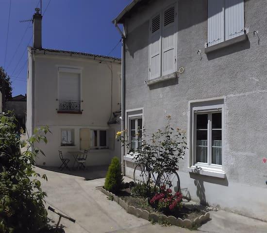 Maison au calme proche de Paris